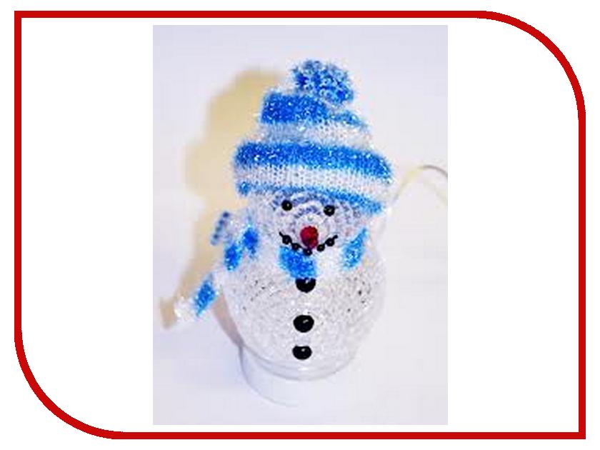 Новогодний сувенир Новогодний Снеговик Coolcox СС-319D USB Blue<br>