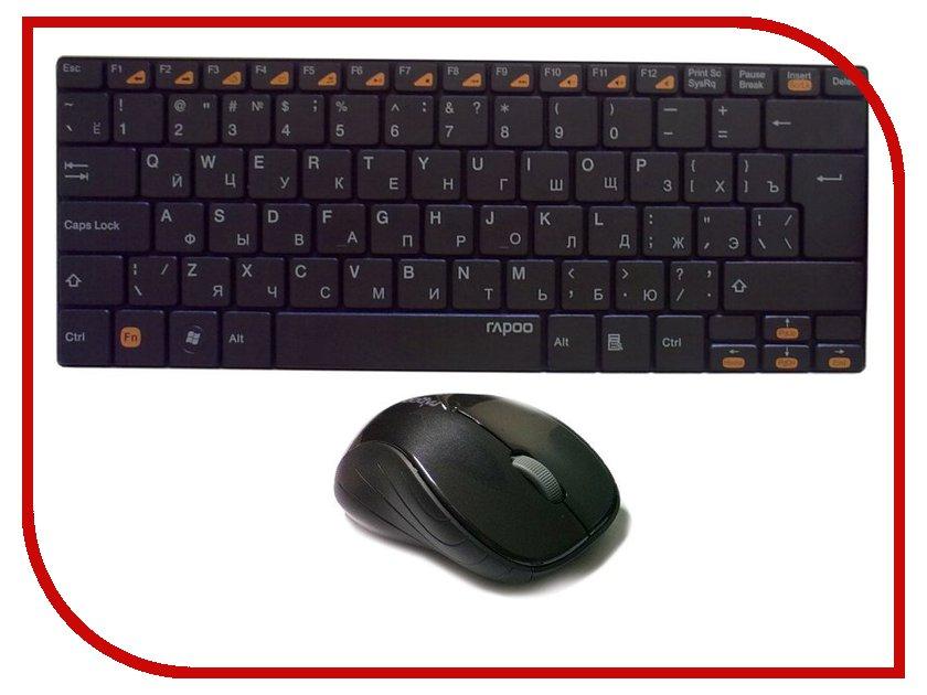 Набор Rapoo 9020 Black USB<br>