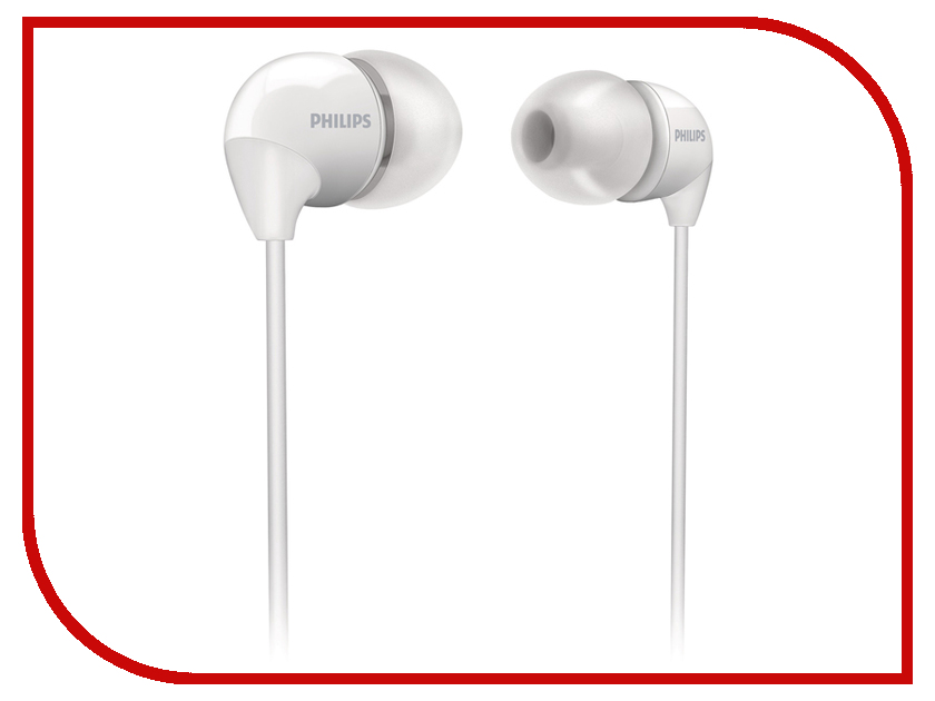 Наушники Philips SHE3590 White<br>