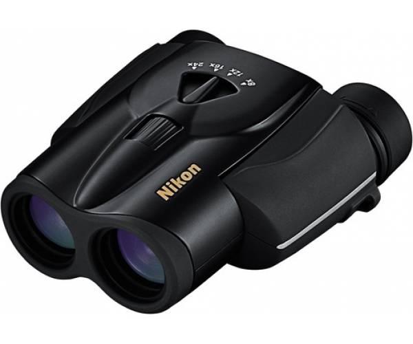 Бинокль Nikon 8-24x25 Aculon T11 Zoom Black