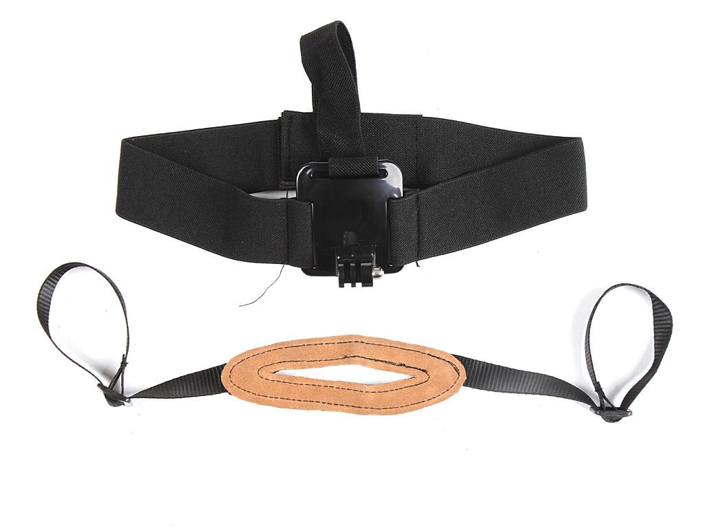Фото - Аксессуар Крепление на голову Lumiix GP23C для GoPro / SJCAM / Xiaomi аксессуар ремешок для пульта управления lumiix gp22 velcro belt схожий с awrmk 001 remote для gopro hero 3 3 2 1
