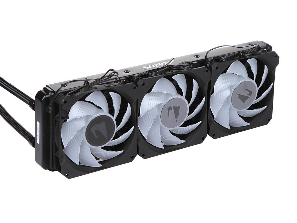 Водяное охлаждение GigaByte Aorus Liquid Cooler 360 GP-ALQCO360 (Intel LGA 1151/1150/1155/1156/2066/1366/2011-3/1200 AMD AM4/sTRX4/sTR4)