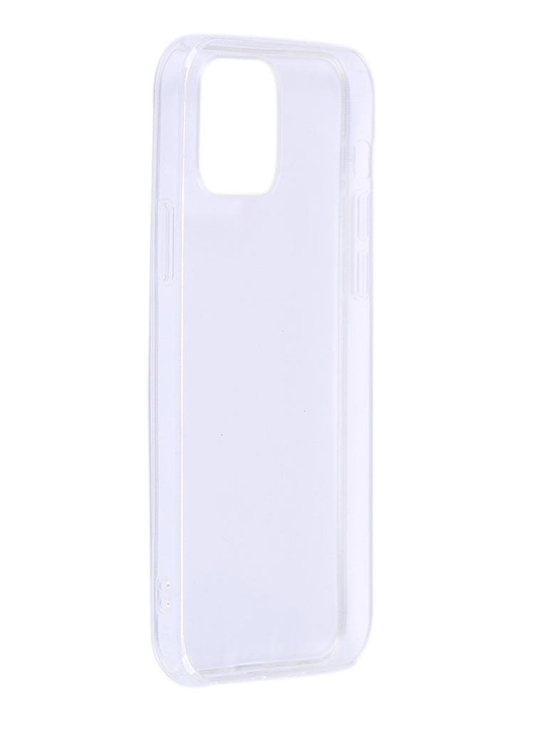 Чехол iBox для APPLE iPhone 12/12 Pro Crystal Silicone Transparent УТ000021695