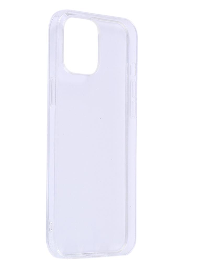 Чехол iBox для APPLE iPhone 12 Pro Max Crystal Silicone Transparent УТ000021696 чехол ibox для apple iphone 11 blaze silicone transparent frame ут000020830