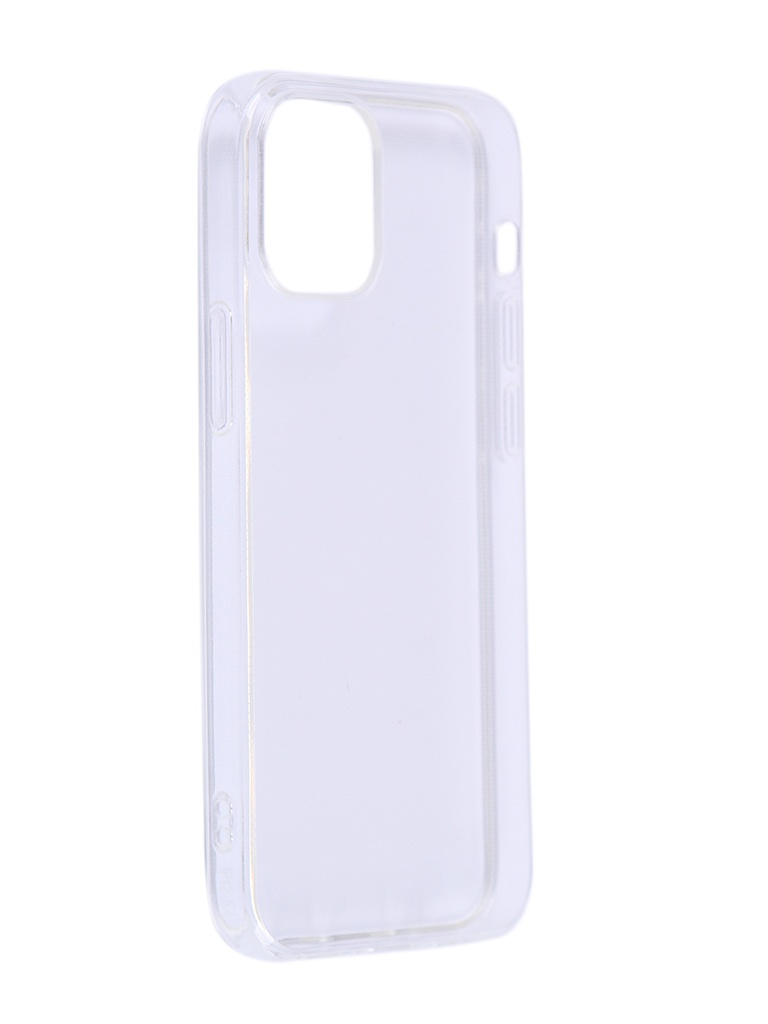 Чехол iBox для APPLE iPhone 12 Crystal Silicone Transparent УТ000021694