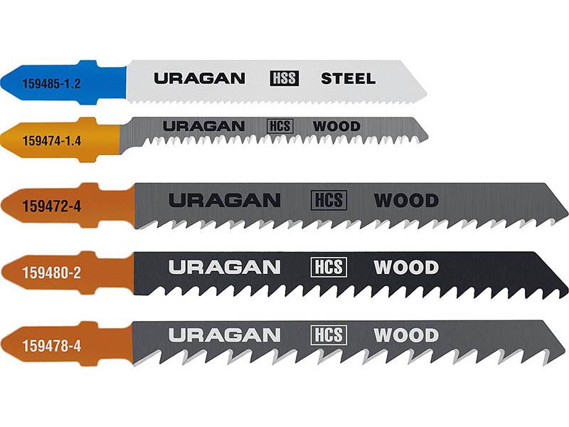 Пилка Uragan по дереву и металлу 5шт 159488-H5_z02