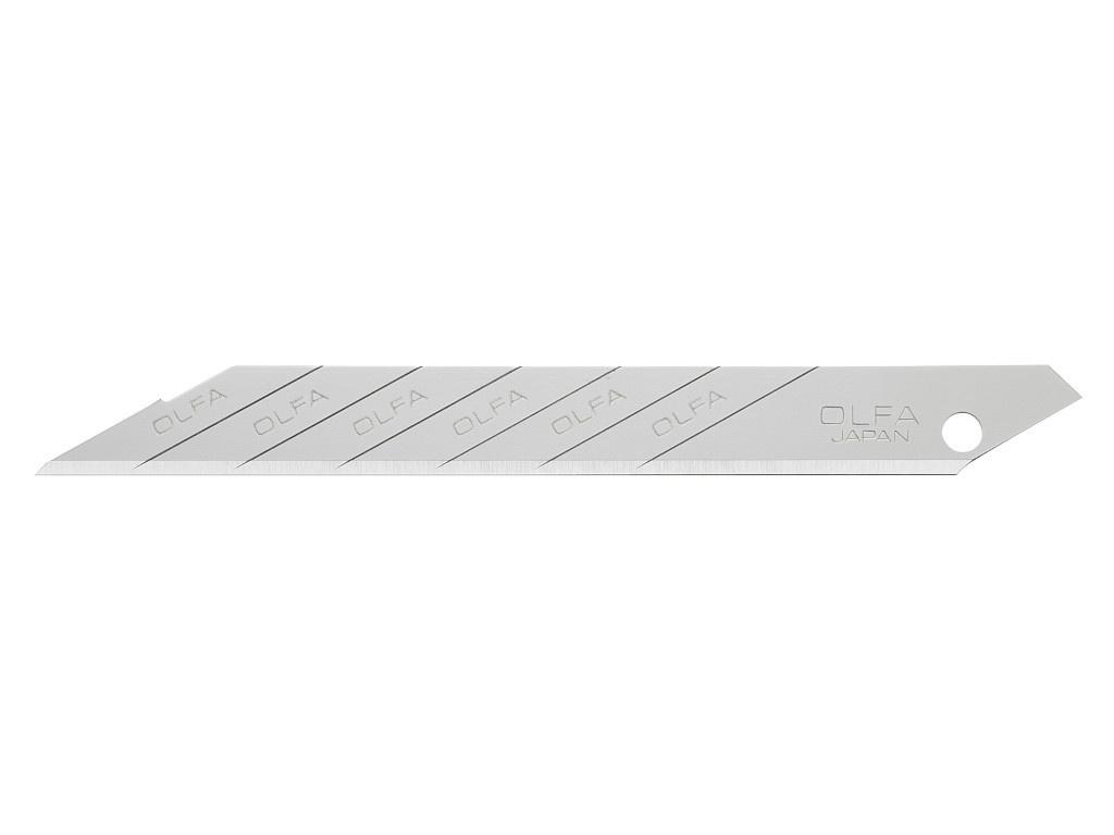 Лезвие Olfa 9x80x0.38mm 10шт OL-SAB-10B набор сменных лезвий olfa ol lb 10b 10 шт