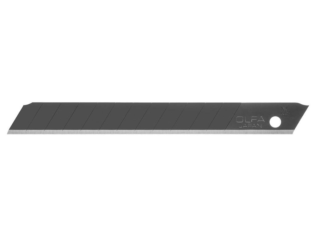 Лезвие Olfa 9x80x0.38mm Black Max OL-ABB-10B