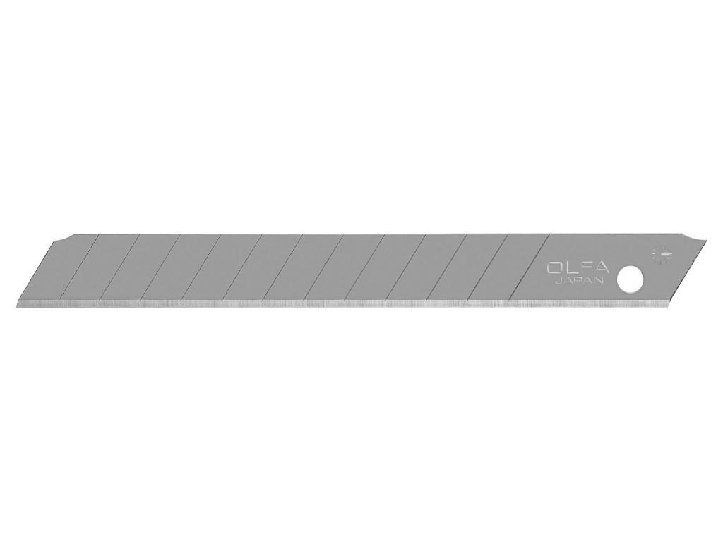 Лезвие Olfa 9x80x0.38mm 10шт OL-AB-10B