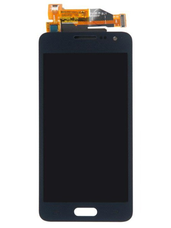 Дисплей RocknParts для Samsung Galaxy A3 SM-A300F 2015 Amoled в сборе с тачскрином Black 397296