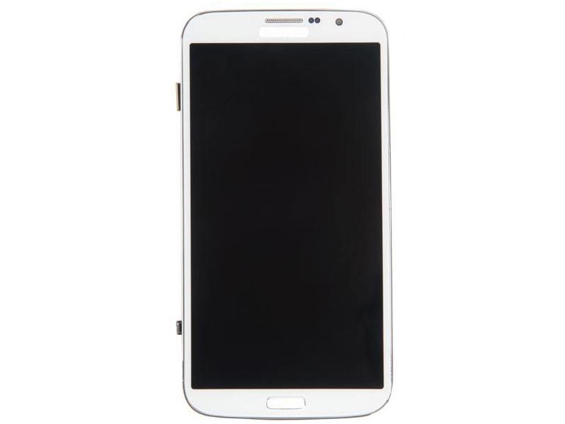 Дисплей RocknParts для Samsung Galaxy Mega 6.3 GT-I9200 TFT-PLS в сборе с тачскрином и передней панелью White 352828