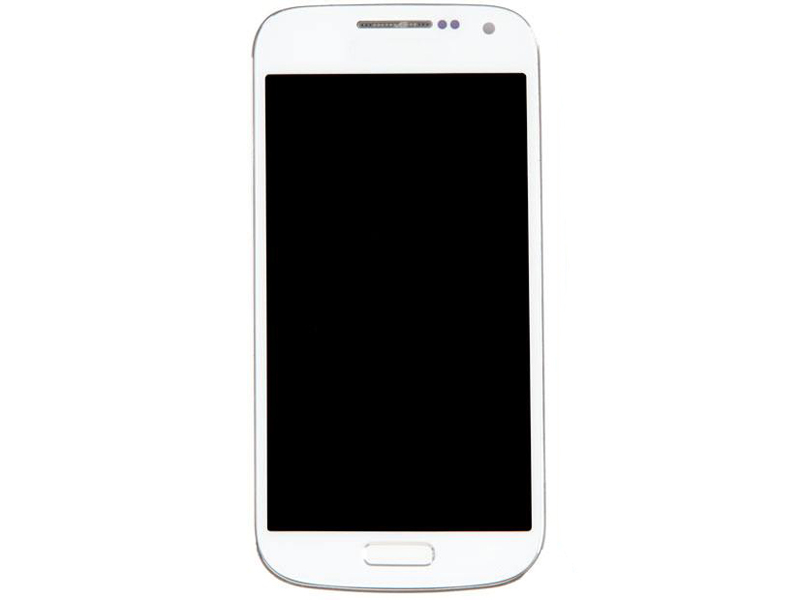 Дисплей RocknParts для Samsung Galaxy S4 mini GT-I9190 / GT-I9192 GT-I9195 Amoled в сборе с тачскрином и передней панелью White 342328