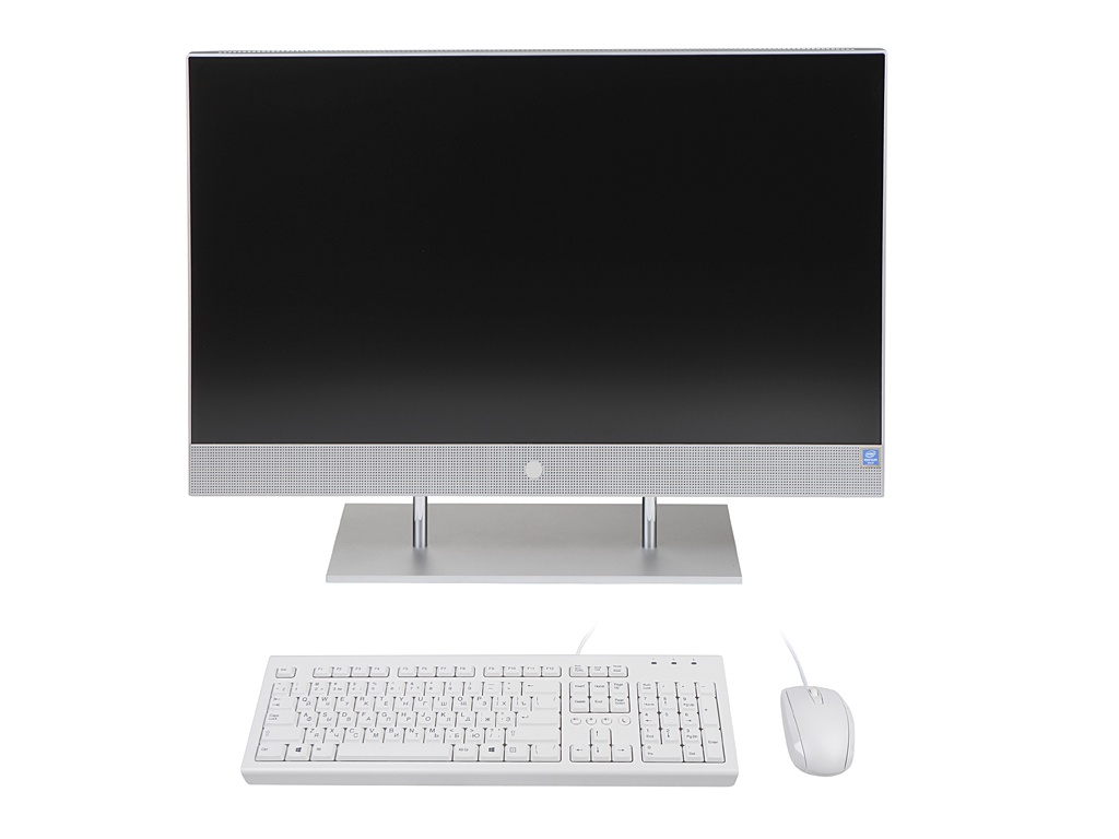 Моноблок HP 27-dp0024ur 14Q57EA (Intel Pentium Gold G6400T 3.4GHz/4096Mb/128Gb SSD/Intel HD Graphics/Wi-Fi/27/1920x1080/DOS)