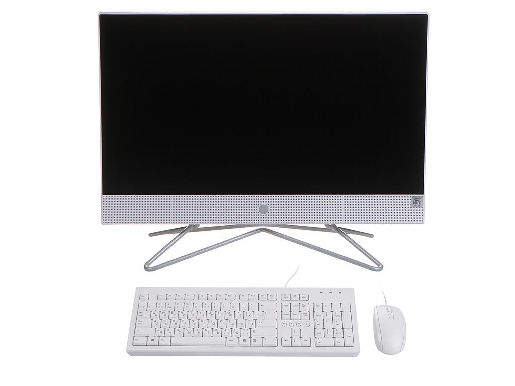 Моноблок HP 22-df0021ur 14P60EA (Intel Core i3-1005G1 1.2 GHz/4096Mb/256Gb SSD/Intel UHD Graphics/Wi-Fi/Bluetooth/Cam/21.5/1920x1080/Windows 10 Home 64-bit)