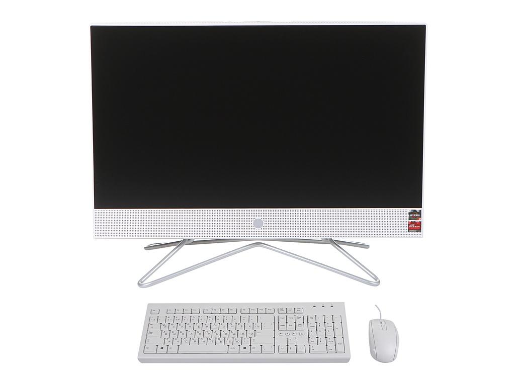 Моноблок HP 22-df0045ur 14P74EA (AMD Ryzen 3 3250U 2.6GHz/4096Mb/128Gb SSD/AMD Radeon Graphics/Wi-Fi/21.5/1920x1080/Windows 10 64-bit)