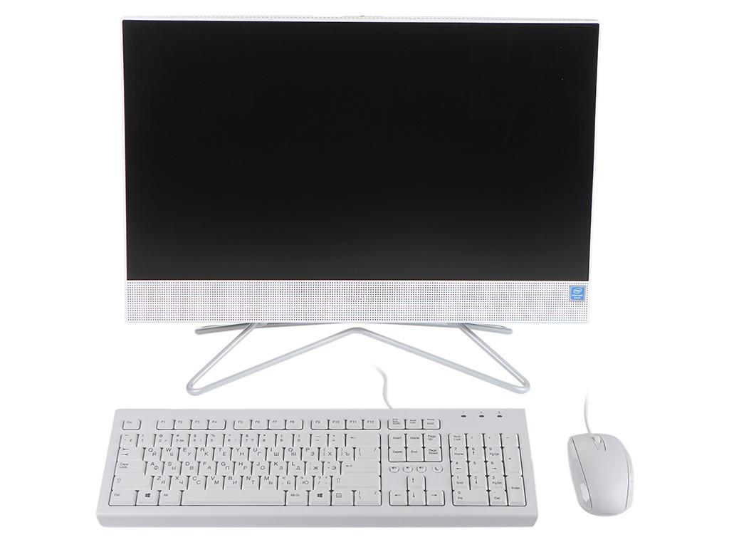 Моноблок HP 22-df0015ur 14P54EA (Intel Pentium J5040 2.0GHz/8192Mb/1000Gb/Intel HD Graphics/Wi-Fi/21.5/1920x1080/DOS)