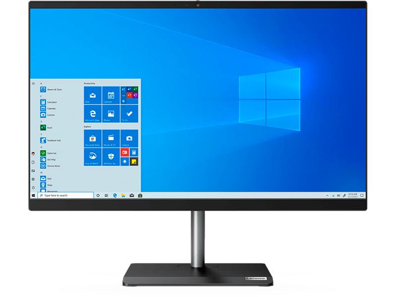 Моноблок Lenovo V30a-22IML 11FV001NRU (Intel Core i3 10110U 2.1GHz/4096Mb/128Gb SSD/Intel HD Graphics/Wi-Fi/Bluetooth/Cam/21.5/1920x1080/No OS) моноблок lenovo v530 24icb 10uw00gcru intel core i3 9100t 3 1ghz 4096mb 128gb ssd dvd rw intel hd graphics wi fi bluetooth 23 8 1920x1080 no os