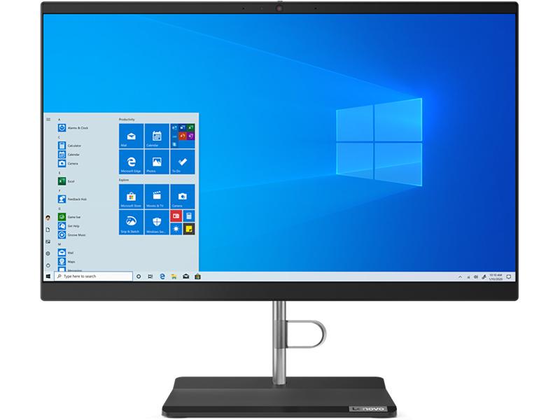 Моноблок Lenovo V30a-22IML 11FV002MRU (Intel Core i3 10110U 2.1GHz/8192Mb/1000Gb/Intel HD Graphics/Wi-Fi/Bluetooth/Cam/21.5/1920x1080/Windows 10 Pro 64-bit)