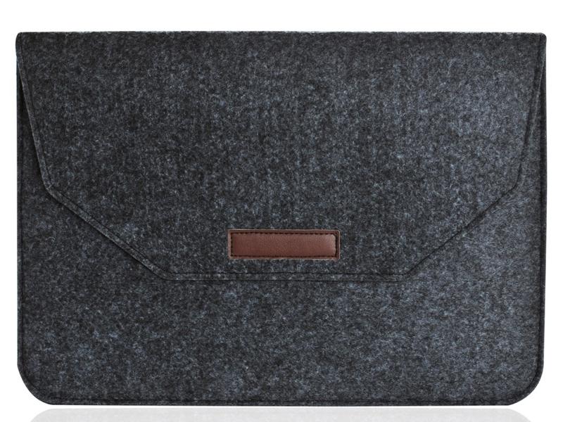 Аксессуар Конверт 11-12-inch Gurdini для APPLE MacBook Black 902277