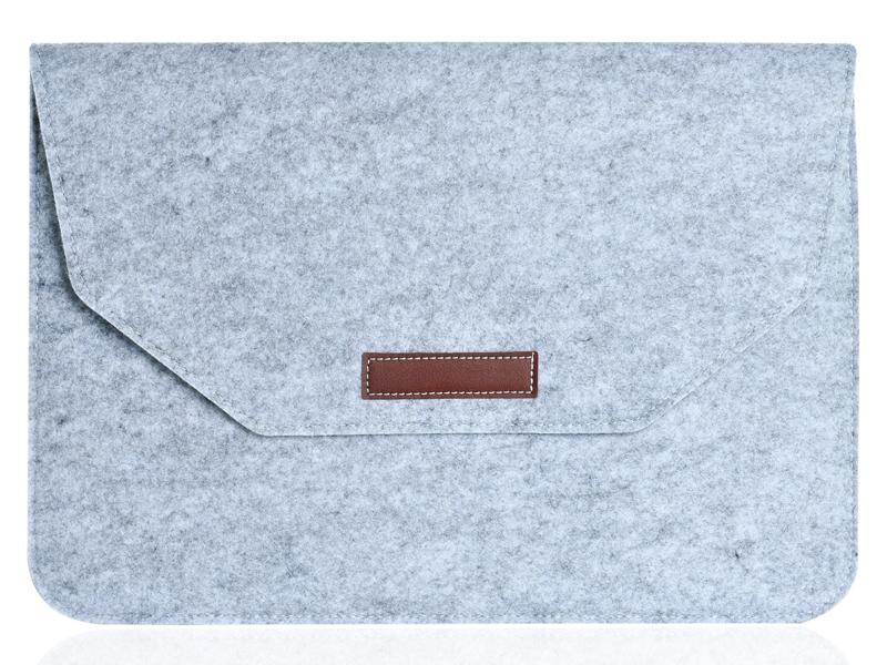 Аксессуар Конверт 11-12-inch Gurdini для APPLE MacBook Grey 902276