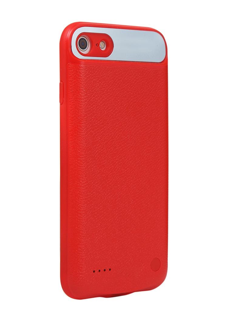 Чехол-аккумулятор XO для APPLE iPhone SE 2020/8/7 Backpack PB-15 2500mAh Red 912921