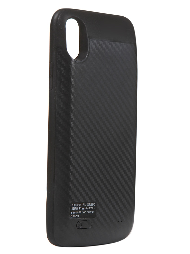 Чехол-аккумулятор XO для APPLE iPhone X/XS Backpack PB-36 3000mAh Black 912918