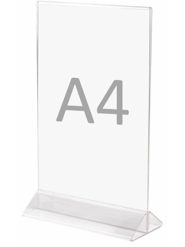 Фото - Подставка для рекламных материалов Staff 300x210mm 291176 карандаш staff нв 2 мм серый