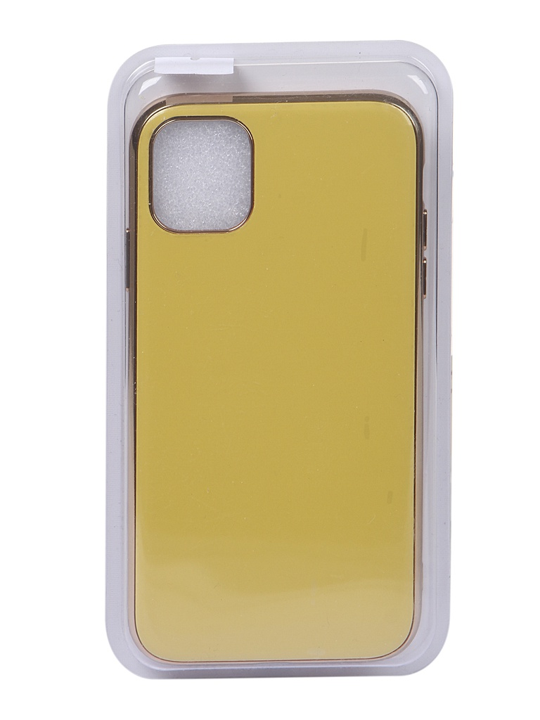 Чехол Eva для APPLE iPhone 11 Yellow 7190