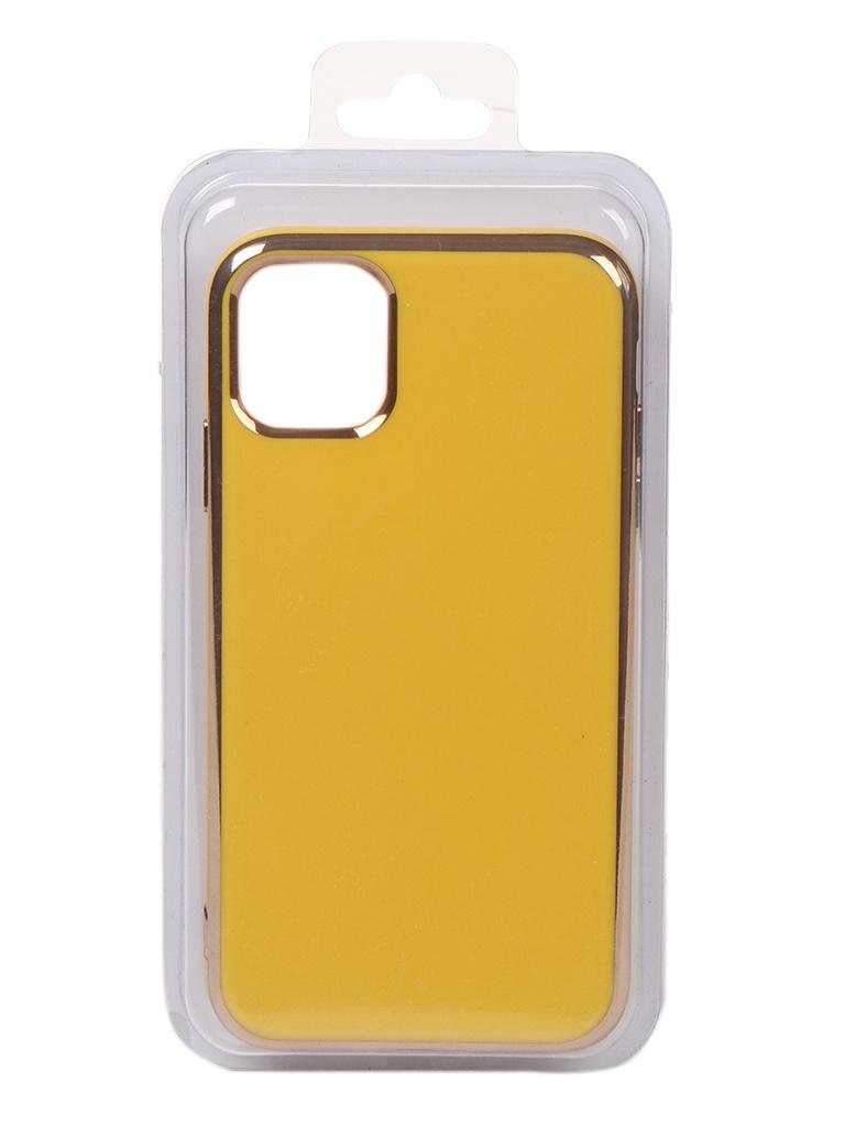 Чехол Eva для APPLE iPhone 11 Yellow 7484