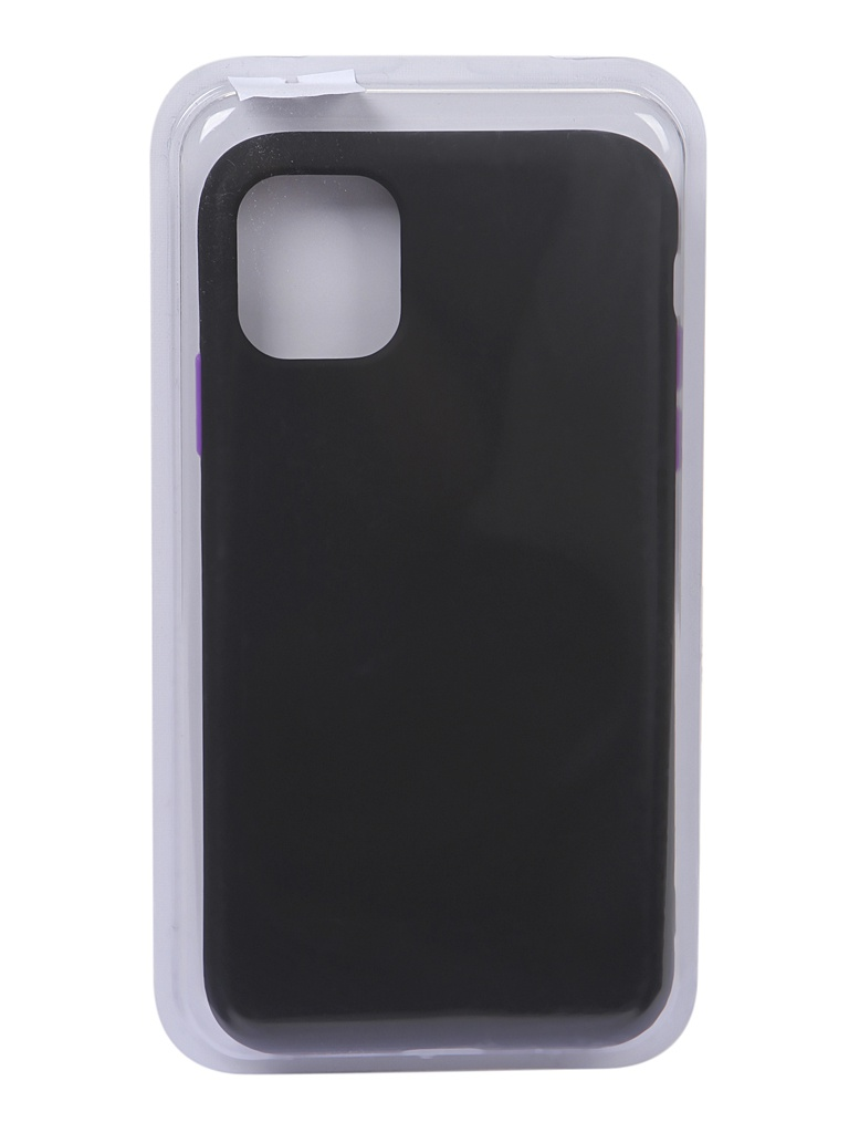 Чехол Eva для APPLE iPhone 11 TPU 2.0mm Black 7279
