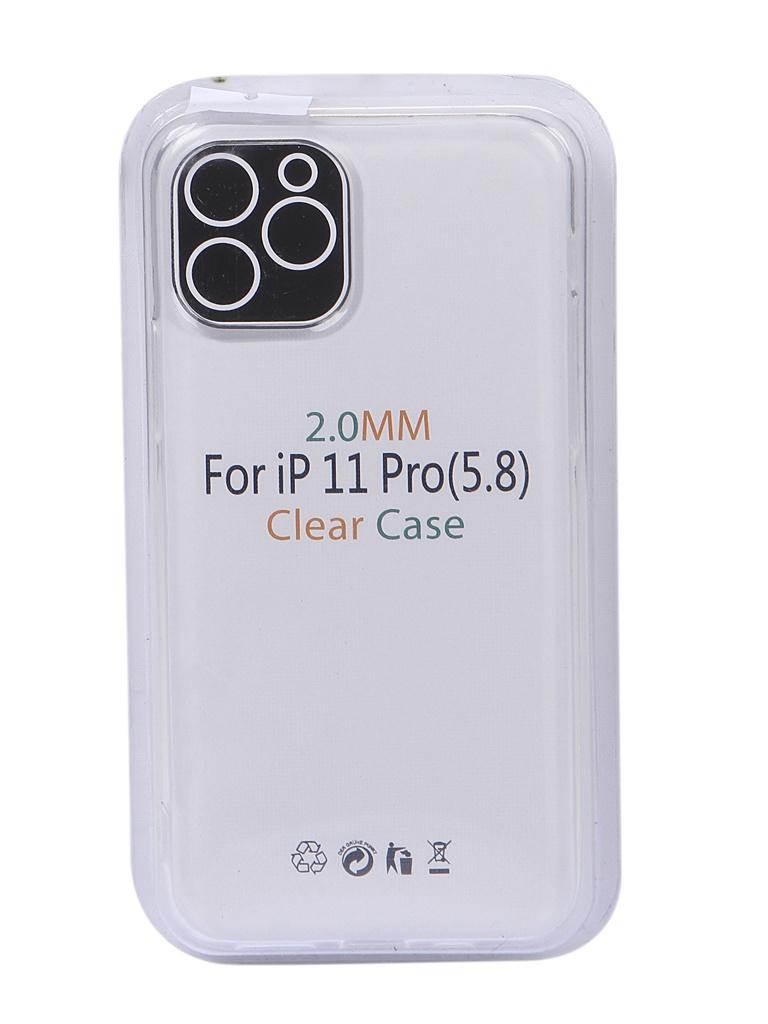 Чехол Eva для APPLE iPhone 11 Pro TPU 2.0mm Transparent TR