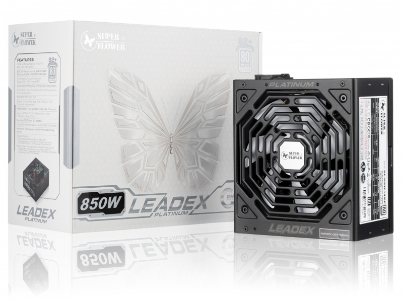 Блок питания Super Flower Power Supply Leadex Platinum 850W SF-850F14MP