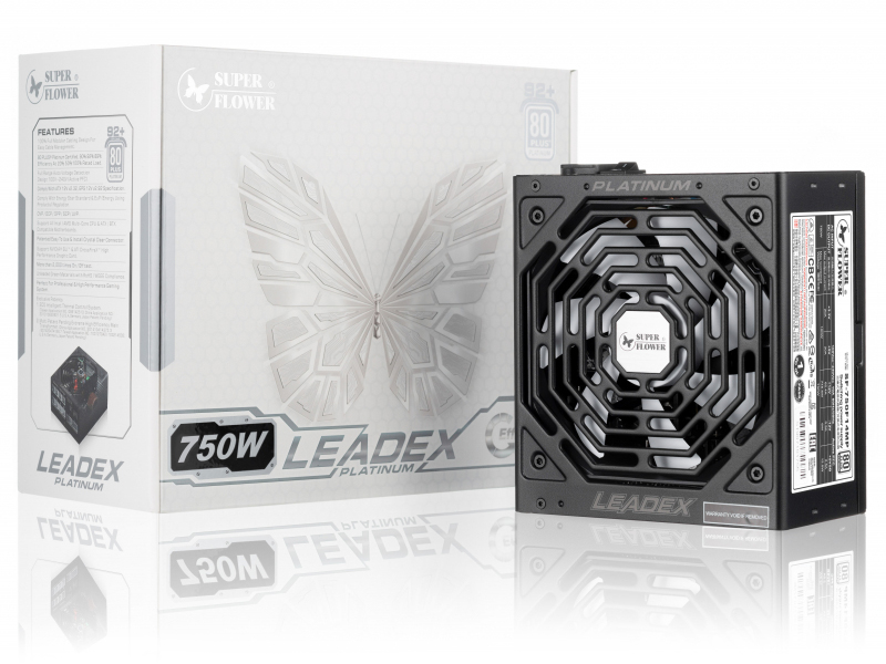 Блок питания Super Flower Power Supply Leadex Platinum 750W SF-750F14MP