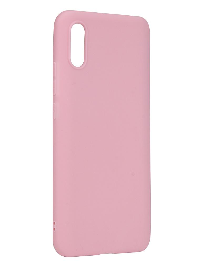 Чехол Zibelino для Xiaomi Redmi 9A Soft Matte Pink ZSM-XIA-RDM-9A-PNK