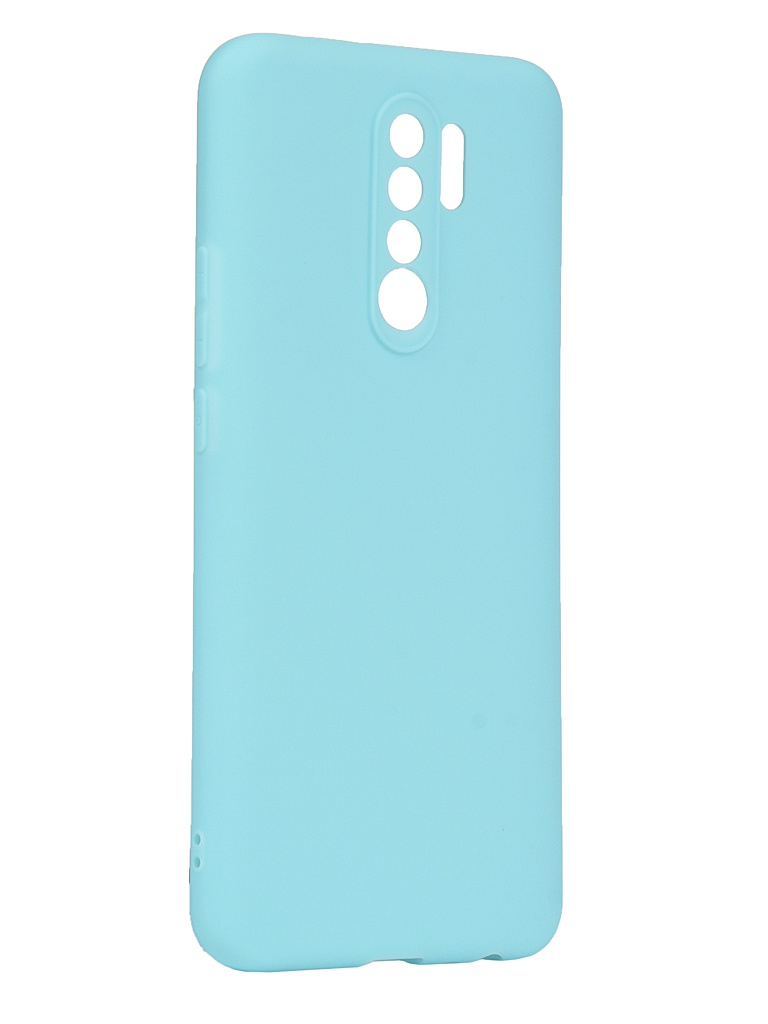 Чехол Zibelino для Xiaomi Redmi 9 Soft Matte Turquoise ZSM-XIA-RDM-9-TQS