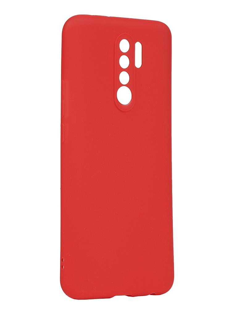 Чехол Zibelino для Xiaomi Redmi 9 Soft Matte Red ZSM-XIA-RDM-9-RED