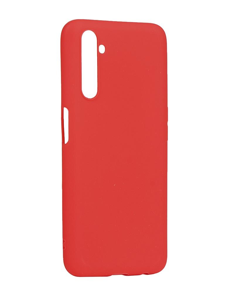 Чехол Zibelino для Realme 6 Pro Soft Matte Red ZSM-RLM-6PRO-RED