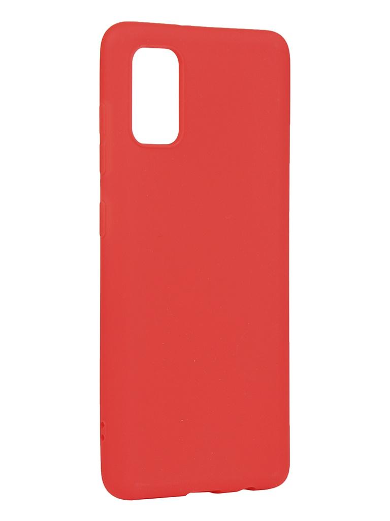 Чехол Zibelino для Samsung Galaxy A41 A415 Soft Matte Red ZSM-SAM-A41-RED
