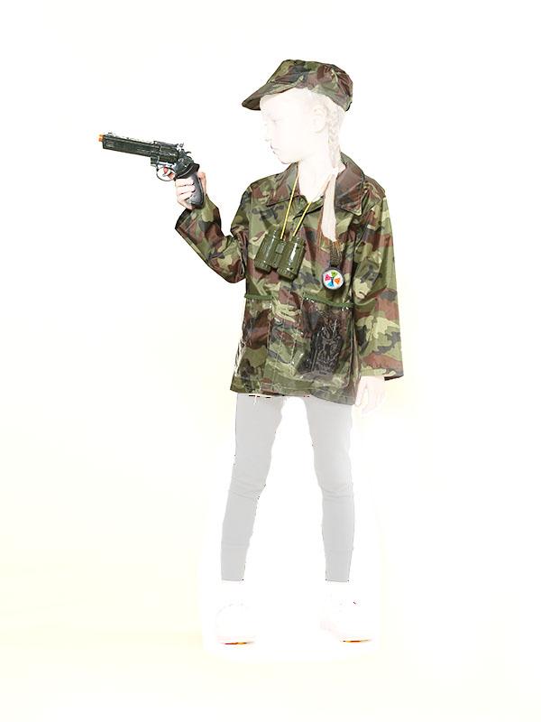 Игровой набор Teplokid Военный с пистолетом TK-MI-09536