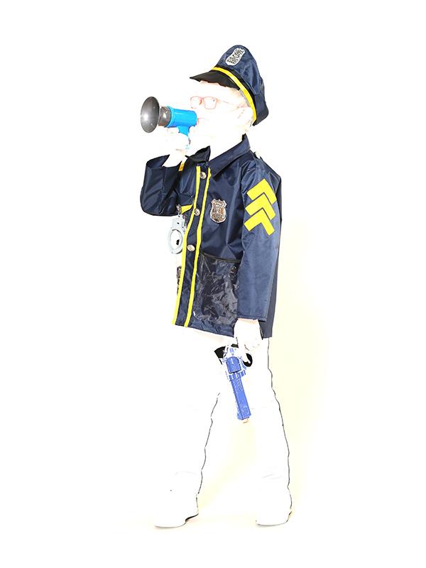 Игровой набор Teplokid Полицейский с пистолетом TK-PO-09529