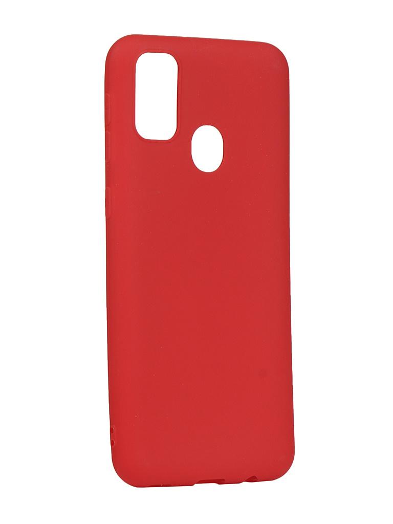 Чехол Zibelino для Samsung Galaxy M21/M30s M215/M307 Soft Matte Red ZSM-SAM-M30S-RED