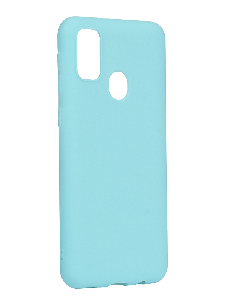 Чехол Zibelino для Samsung Galaxy M21/M30s M215/M307 Soft Matte Turquoise ZSM-SAM-M30S-TQS
