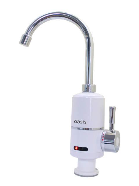 Кран мгновенного нагрева воды Oasis KP-P (X)