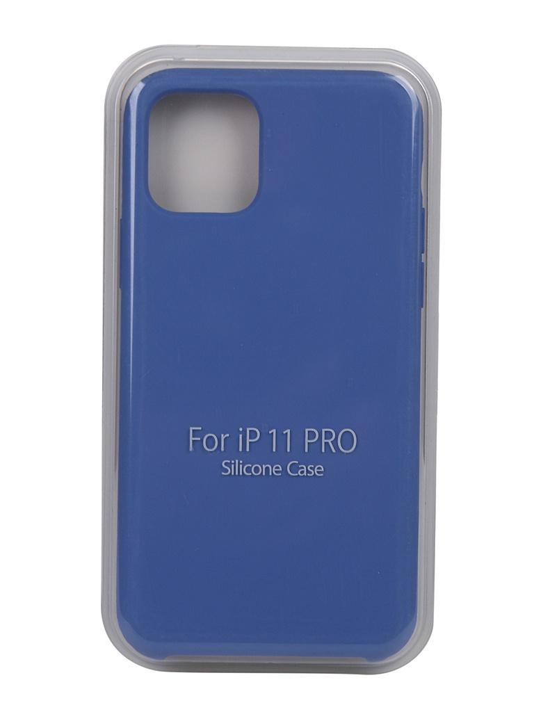 Чехол Bruno для APPLE iPhone 11 Pro Soft Touch Blue 1354