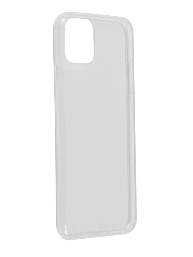 Чехол Bruno для APPLE iPhone 11 Pro Max Ultrathin Silicone Transparent 1188