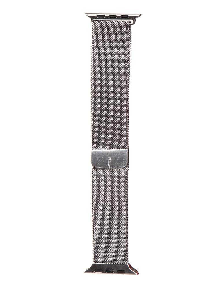Аксессуар Ремешок Bruno для Apple Watch 42/44mm Milano Silver 1024