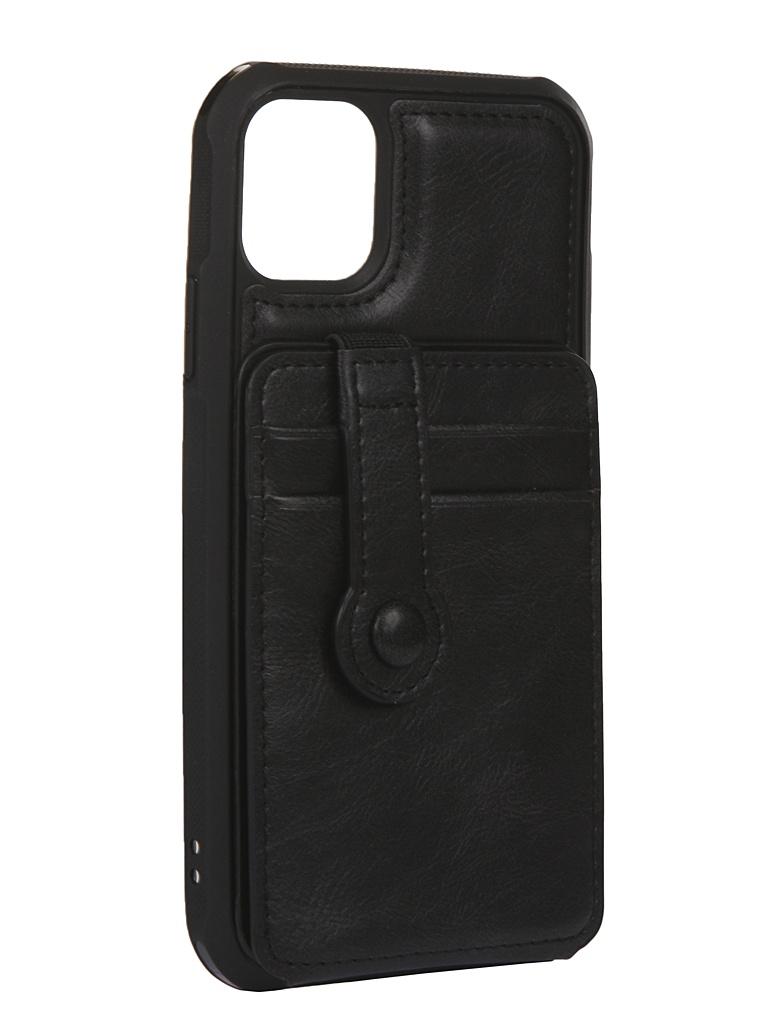 Чехол Bruno для APPLE iPhone 11 011497 Black b20754