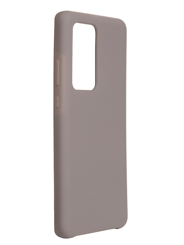 Чехол Bruno для Huawei P40 Pro / Plus Soft Touch Grey b20611