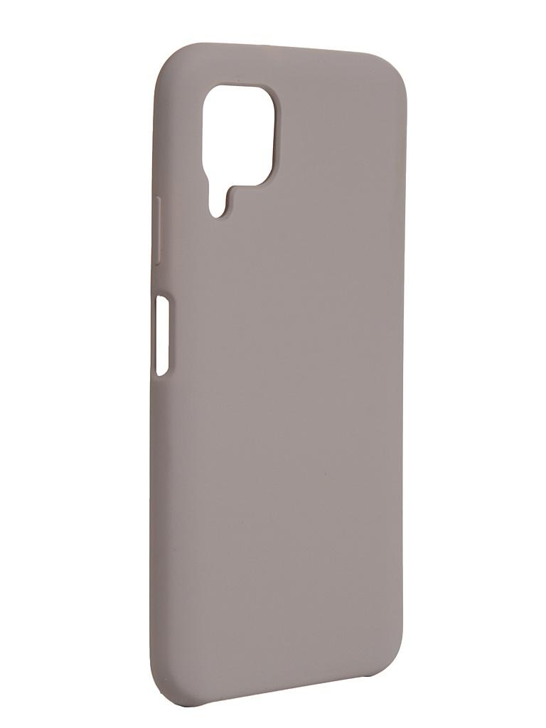 Чехол Bruno для Huawei P40 Lite Soft Touch Grey b20672