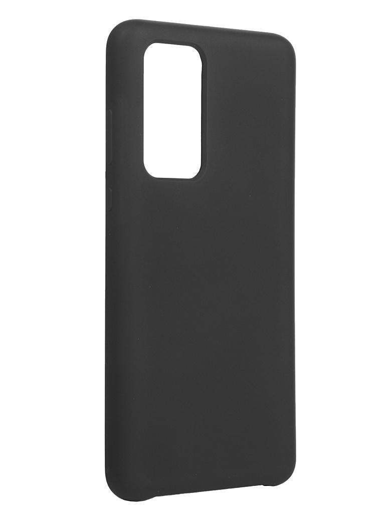 Чехол Bruno для Huawei P40 Soft Touch Black b20586